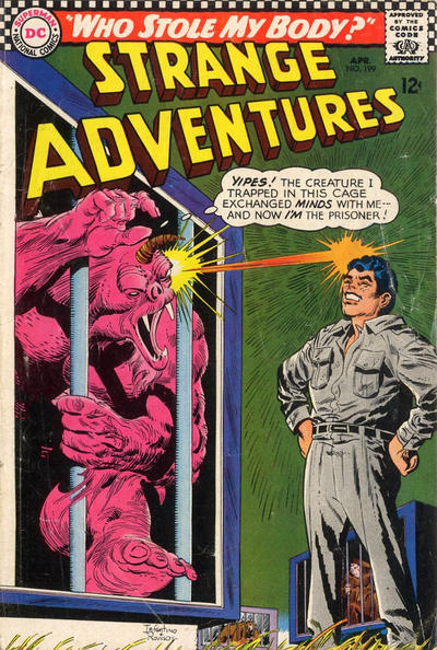Cover for Strange Adventures (DC, 1950 series) #199