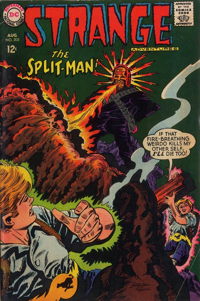 Cover for Strange Adventures (DC, 1950 series) #203