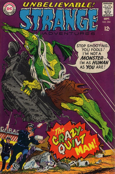 Cover for Strange Adventures (DC, 1950 series) #204