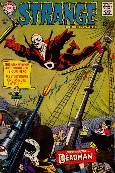 Cover for Strange Adventures (DC, 1950 series) #205