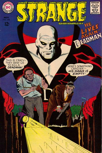 Cover for Strange Adventures (DC, 1950 series) #206