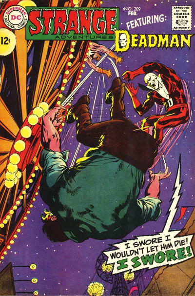 Cover for Strange Adventures (DC, 1950 series) #209