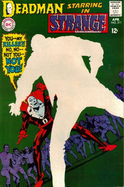 Cover for Strange Adventures (DC, 1950 series) #211