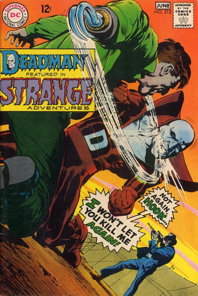 Cover for Strange Adventures (DC, 1950 series) #212