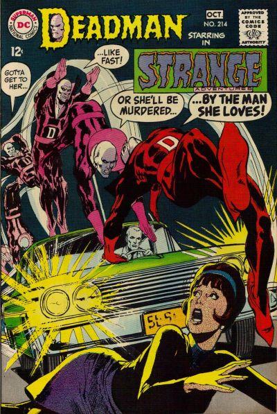 Cover for Strange Adventures (DC, 1950 series) #214
