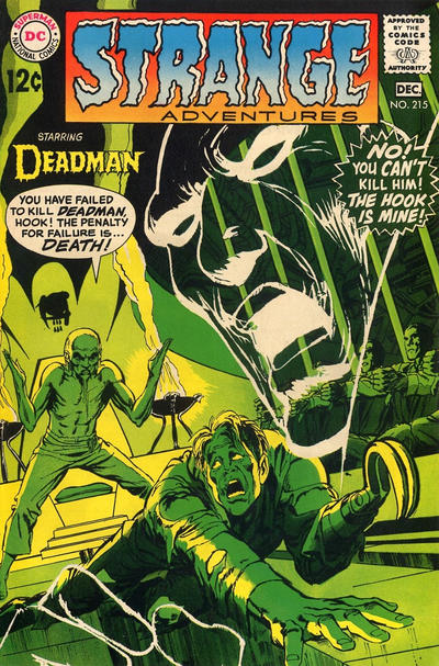 Cover for Strange Adventures (DC, 1950 series) #215