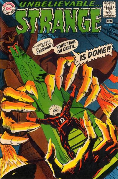 Cover for Strange Adventures (DC, 1950 series) #216