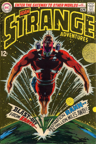 Cover for Strange Adventures (DC, 1950 series) #217
