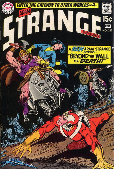 Cover for Strange Adventures (DC, 1950 series) #222