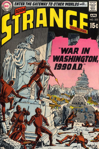 Cover for Strange Adventures (DC, 1950 series) #223