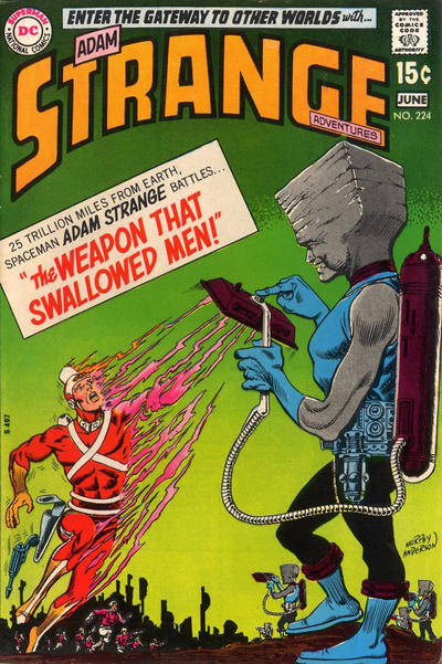 Cover for Strange Adventures (DC, 1950 series) #224
