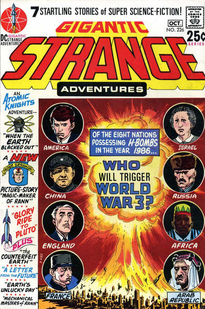 Cover for Strange Adventures (DC, 1950 series) #226