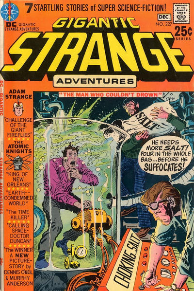 Cover for Strange Adventures (DC, 1950 series) #227
