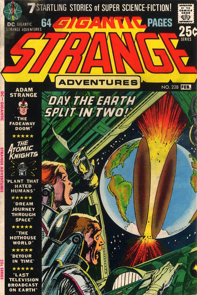 Cover for Strange Adventures (DC, 1950 series) #228