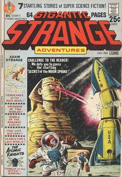 Cover for Strange Adventures (DC, 1950 series) #230