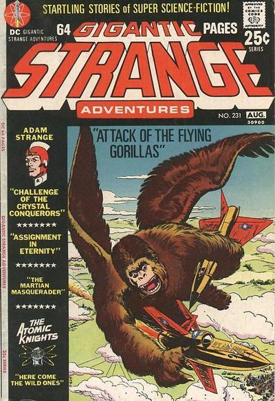 Cover for Strange Adventures (DC, 1950 series) #231