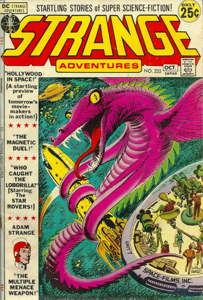 Cover for Strange Adventures (DC, 1950 series) #232