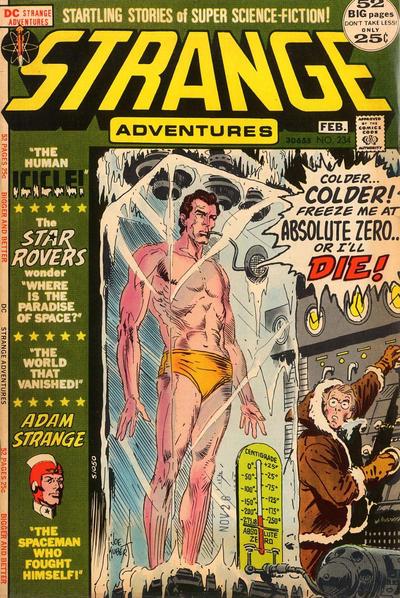 Cover for Strange Adventures (DC, 1950 series) #234