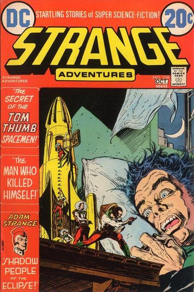 Cover for Strange Adventures (DC, 1950 series) #238