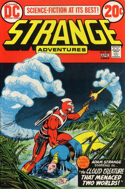 Cover for Strange Adventures (DC, 1950 series) #241