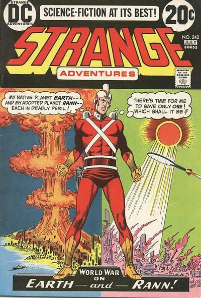Cover for Strange Adventures (DC, 1950 series) #242