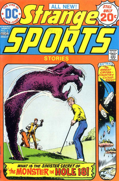 Cover for Strange Sports Stories (DC, 1973 series) #6