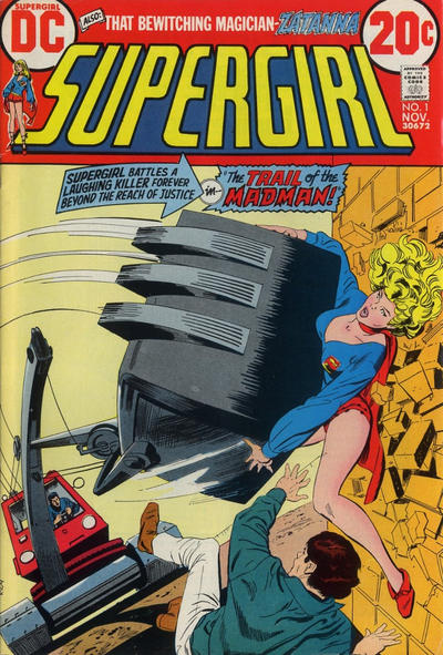 Cover for Supergirl (DC, 1972 series) #1