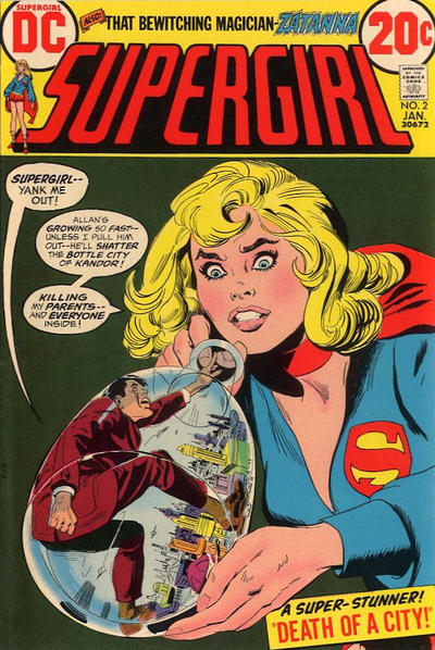 Cover for Supergirl (DC, 1972 series) #2