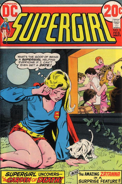 Cover for Supergirl (DC, 1972 series) #3
