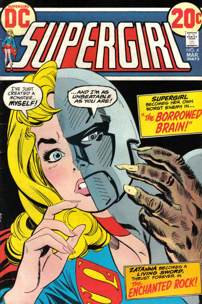 Cover for Supergirl (DC, 1972 series) #4