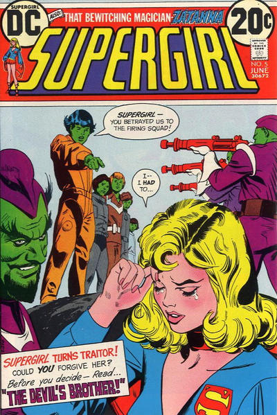 Cover for Supergirl (DC, 1972 series) #5