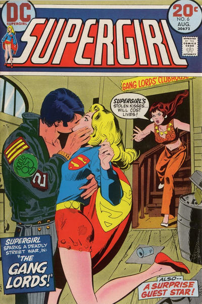 Cover for Supergirl (DC, 1972 series) #6