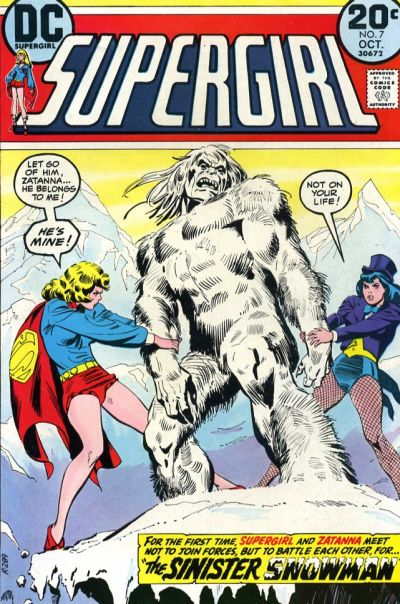 Cover for Supergirl (DC, 1972 series) #7