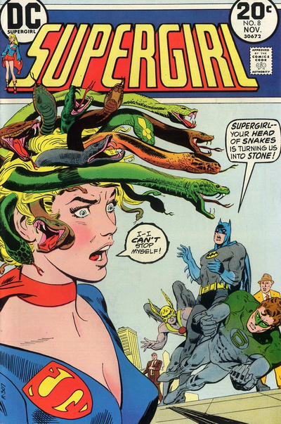 Cover for Supergirl (DC, 1972 series) #8