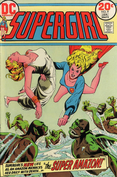 Cover for Supergirl (DC, 1972 series) #9