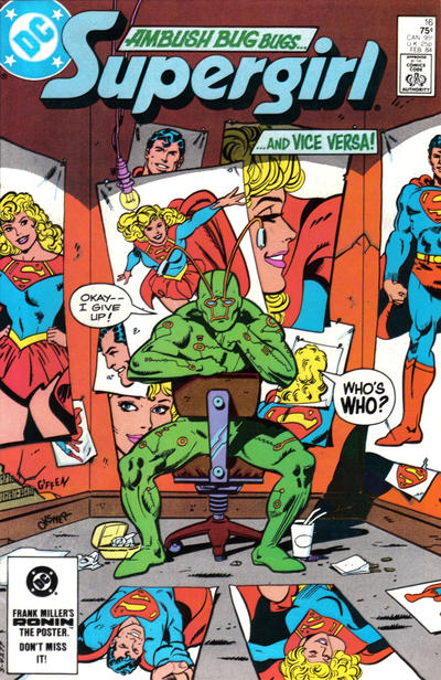 Cover for Supergirl (DC, 1983 series) #16 [Direct]