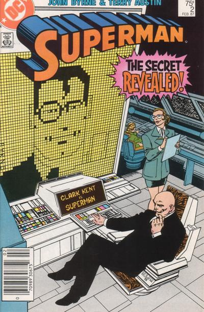 Cover for Superman (DC, 1987 series) #2 [Direct]