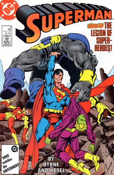 Cover for Superman (DC, 1987 series) #8 [Direct]
