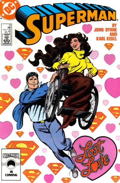 Cover for Superman (DC, 1987 series) #12 [Direct Edition]