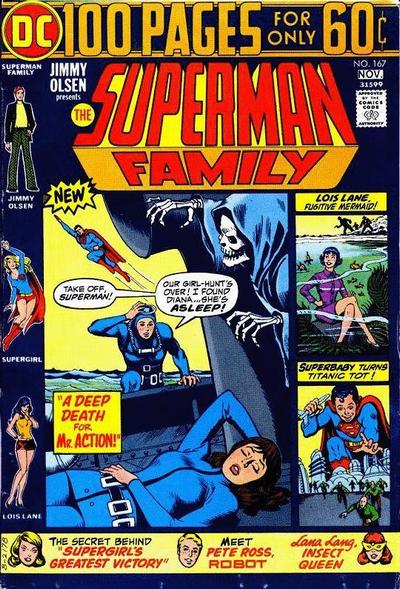 Cover for The Superman Family (DC, 1974 series) #167