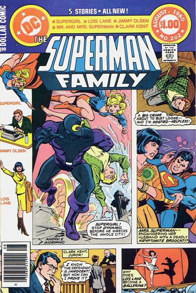 Cover for The Superman Family (DC, 1974 series) #202