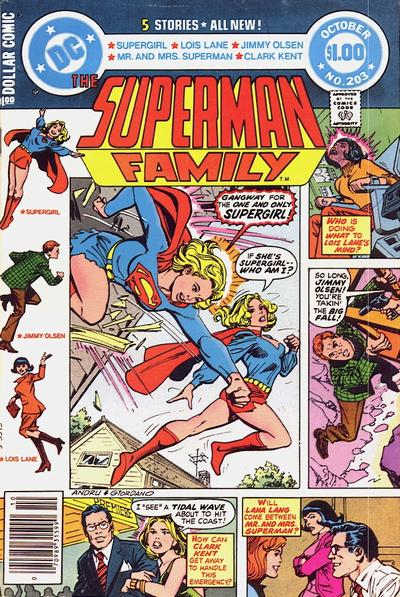 Cover for The Superman Family (DC, 1974 series) #203