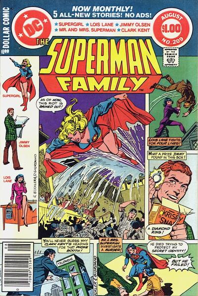 Cover for The Superman Family (DC, 1974 series) #209 [Direct]
