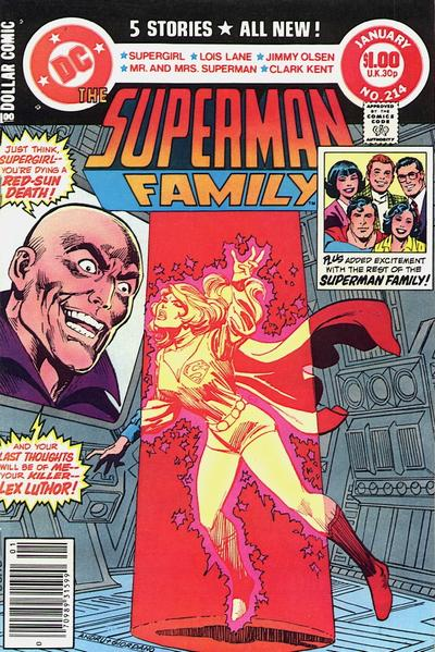 Cover for The Superman Family (DC, 1974 series) #214 [Direct]