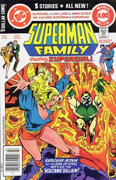 Cover for The Superman Family (DC, 1974 series) #216 [Direct]