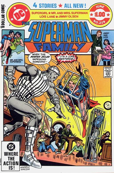 Cover for The Superman Family (DC, 1974 series) #219 [Direct]