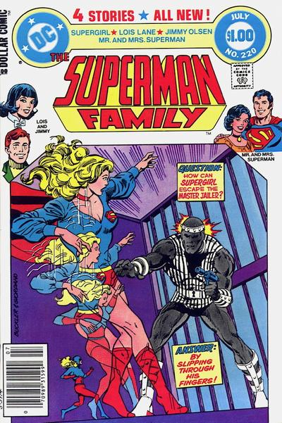 Cover for The Superman Family (DC, 1974 series) #220 [Newsstand]
