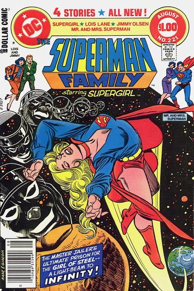 Cover for The Superman Family (DC, 1974 series) #221 [Direct]