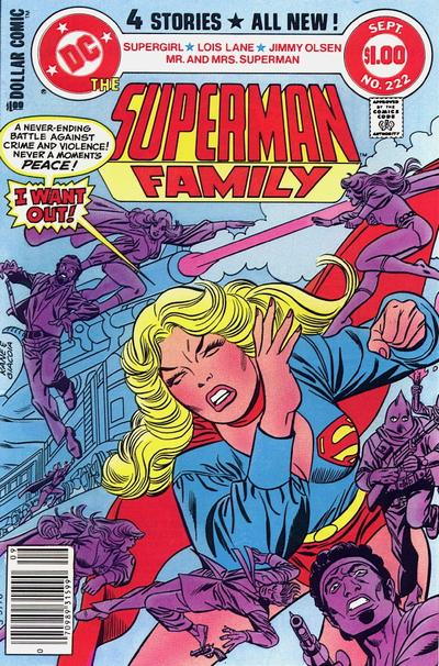 Cover for The Superman Family (DC, 1974 series) #222 [Direct Sales Variant]