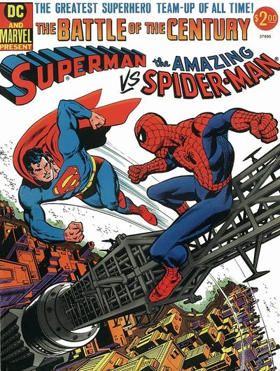 Cover for Superman vs. The Amazing Spider-Man (Marvel; DC, 1976 series) #[nn]